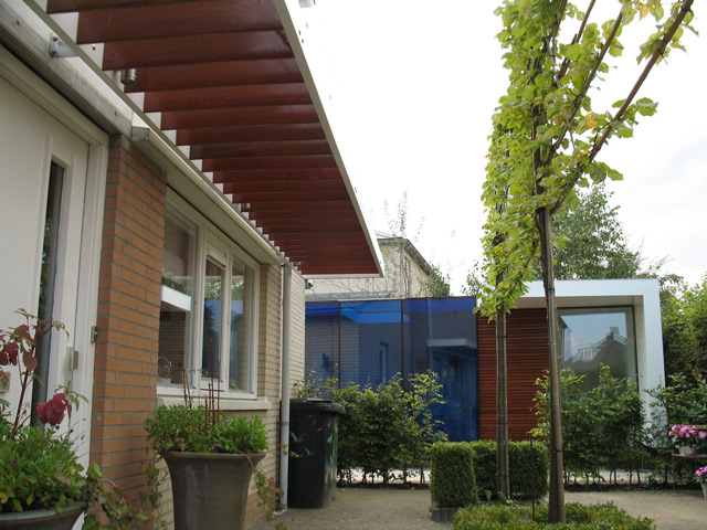 Art studio-exterior view