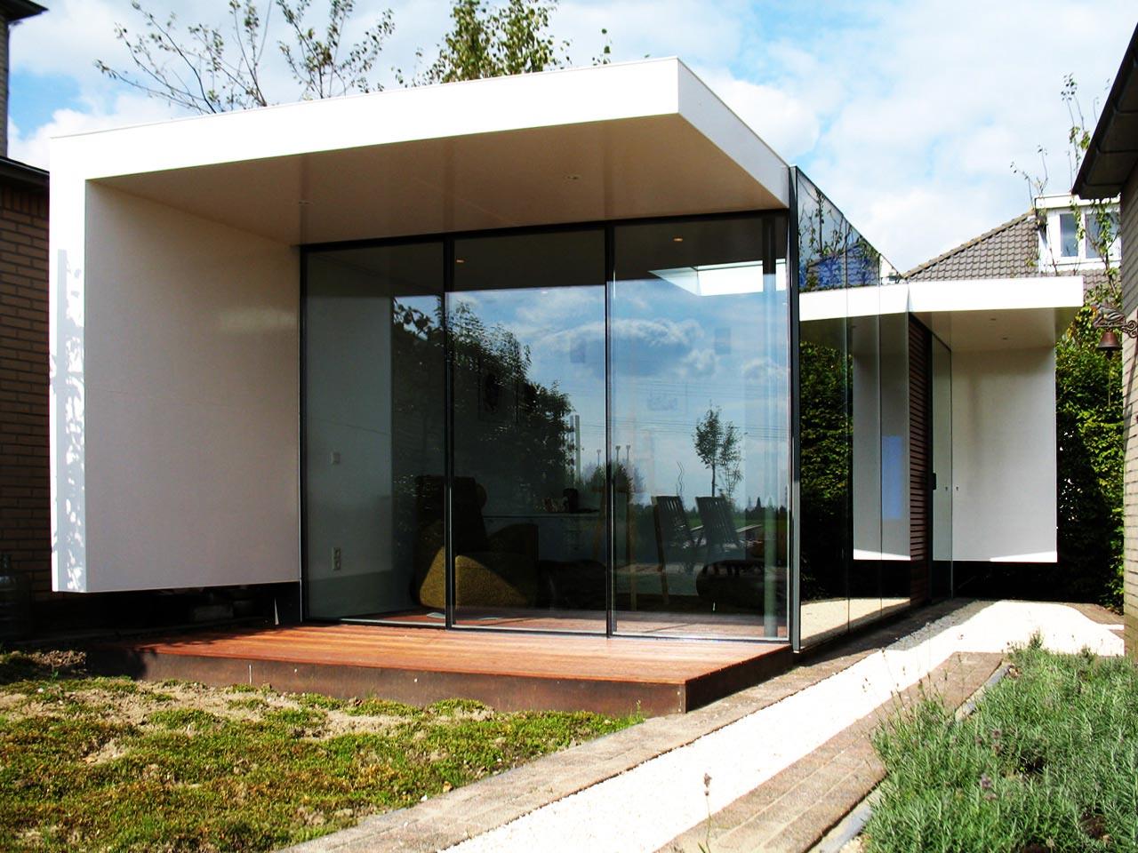 Art studio-exterior view