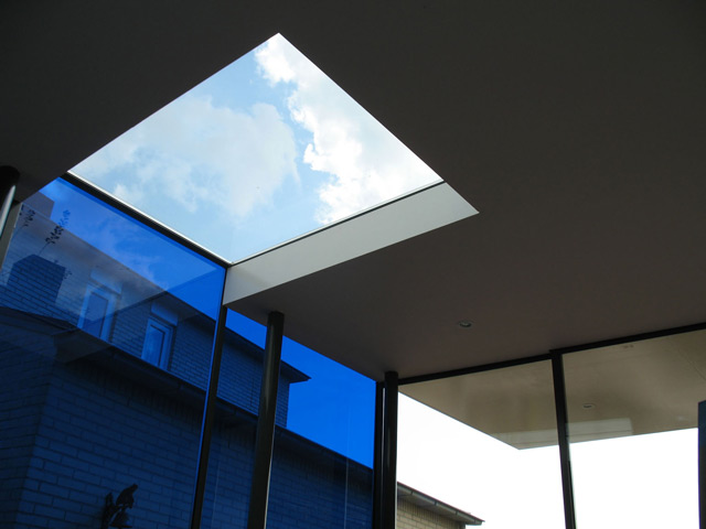 Art studio-skylight