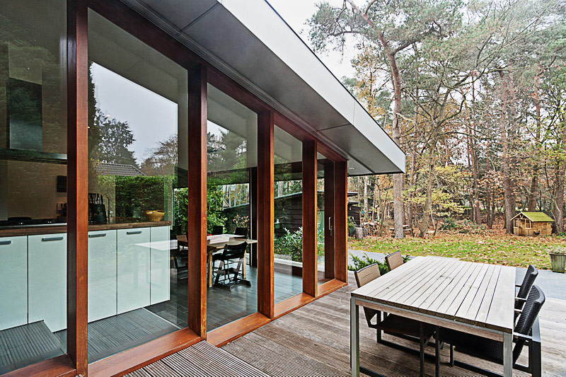 Villa extension-exterior dinning area