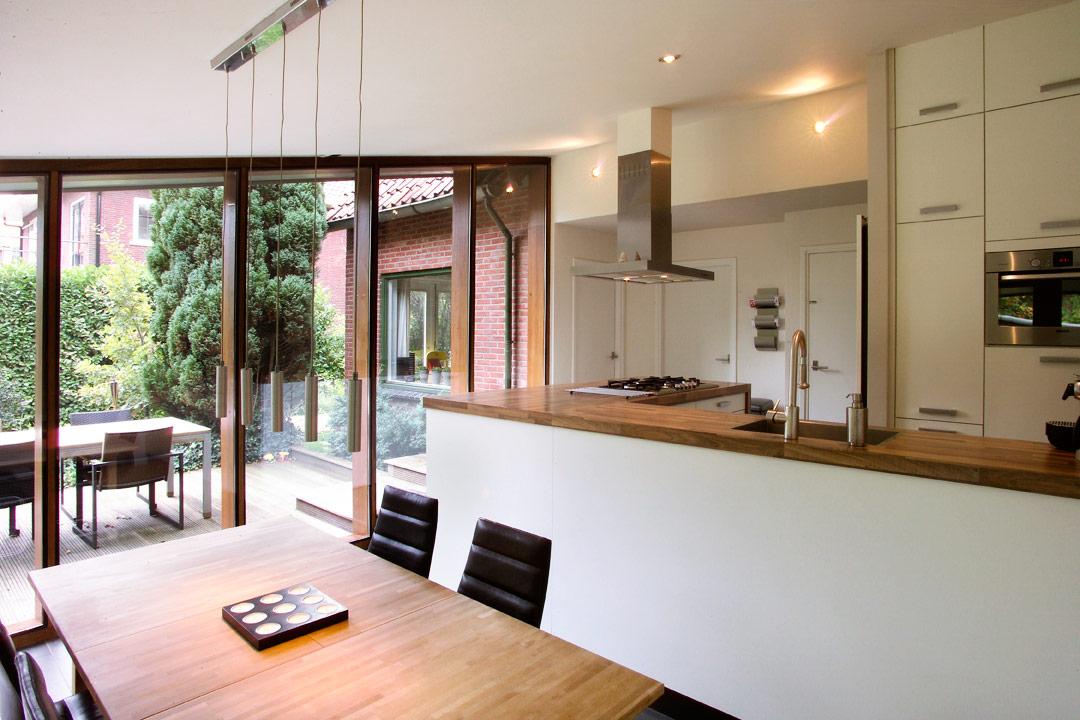 Villa extension-interior