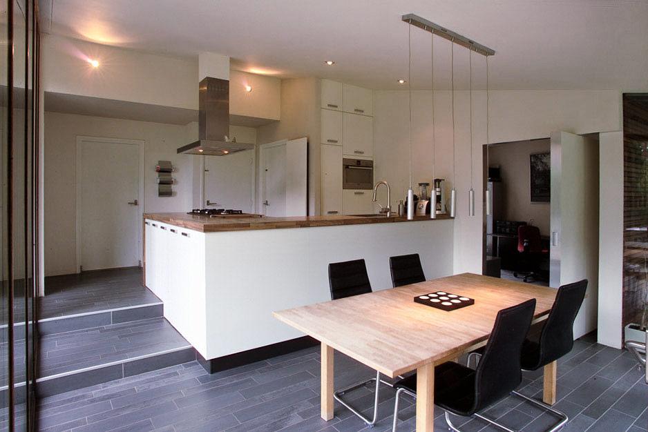 Villa uitbreiding - Keuken eetkamer ...