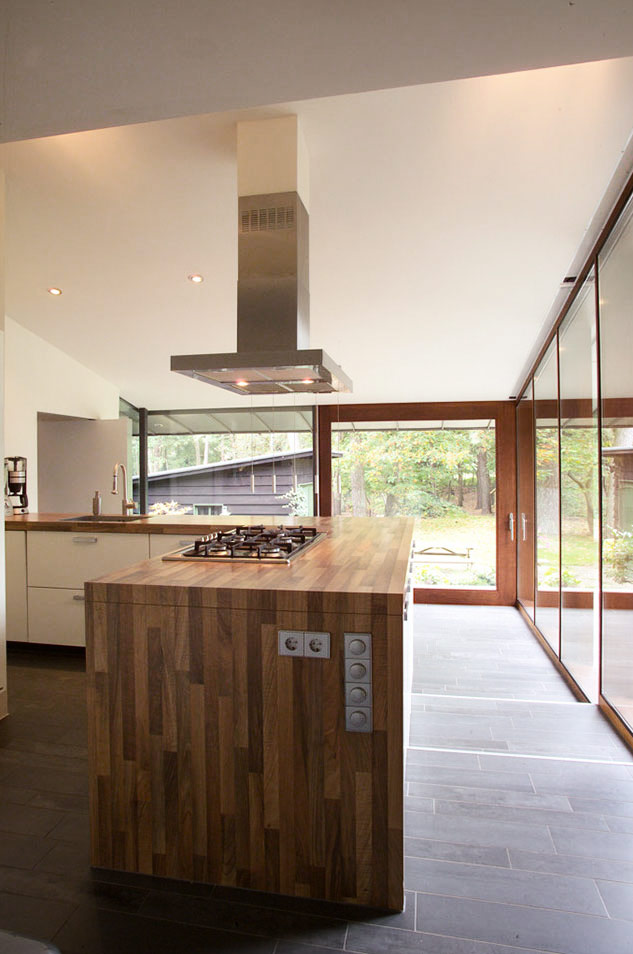 Villa extension-kitchen