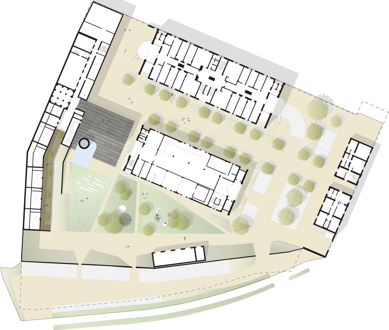 Cittadella del Commiato-Masterplan