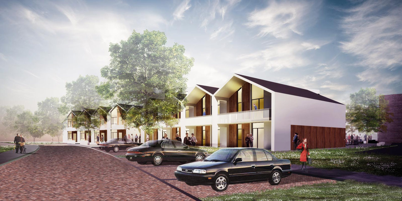 Eltheto Housing and Healthcare Centre-Building 01-Row houses