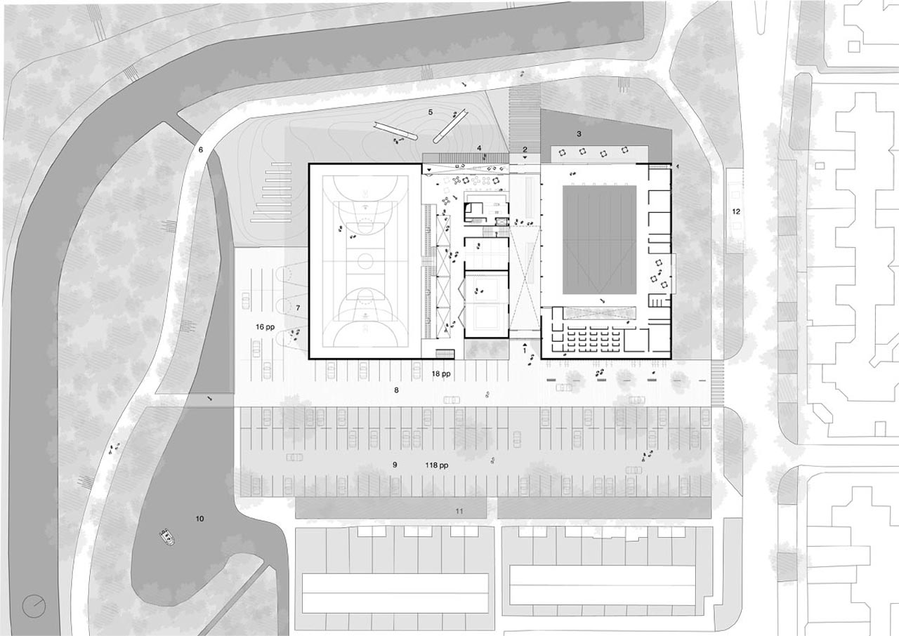 MFA Rozenburg-Site plan