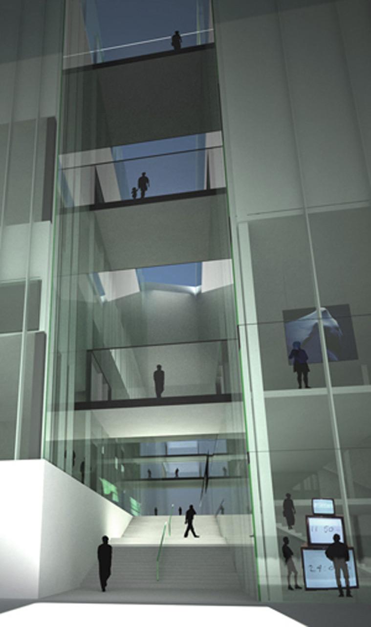 MOMA Warsaw-Corridors
