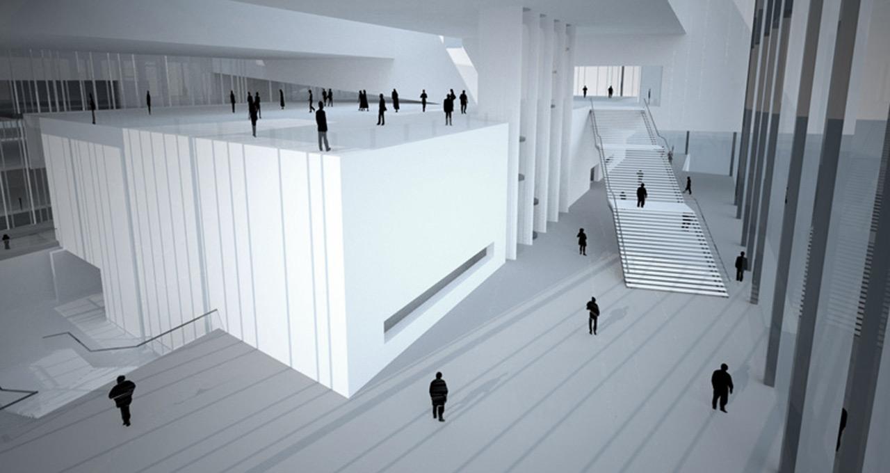 MOMA Warsaw-Lobby