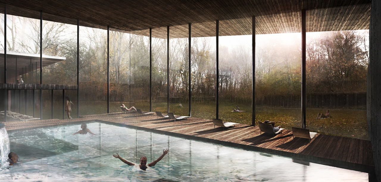 Thermae de Biesbosch-Interior Pool