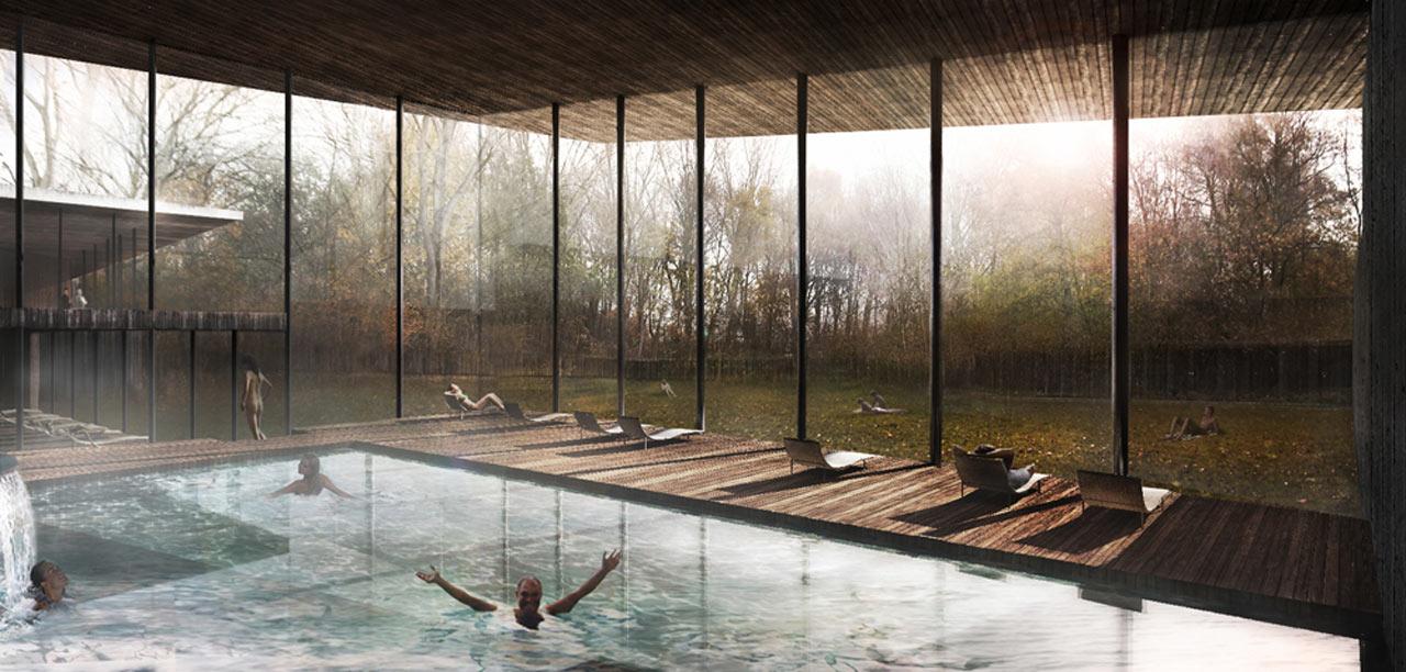Thermae de Biesbosch-interieur zwembad