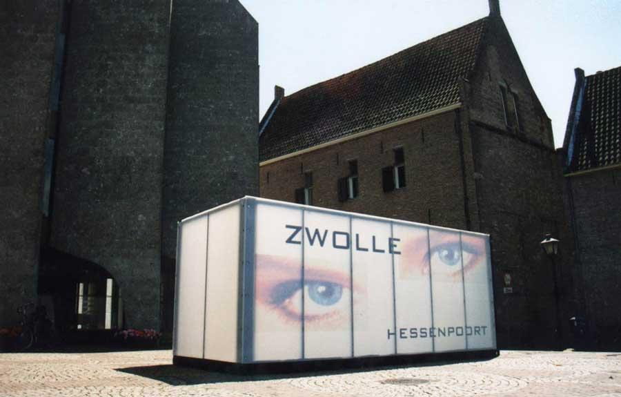 Art Paviljoen-exterieur en openbaar ruimte