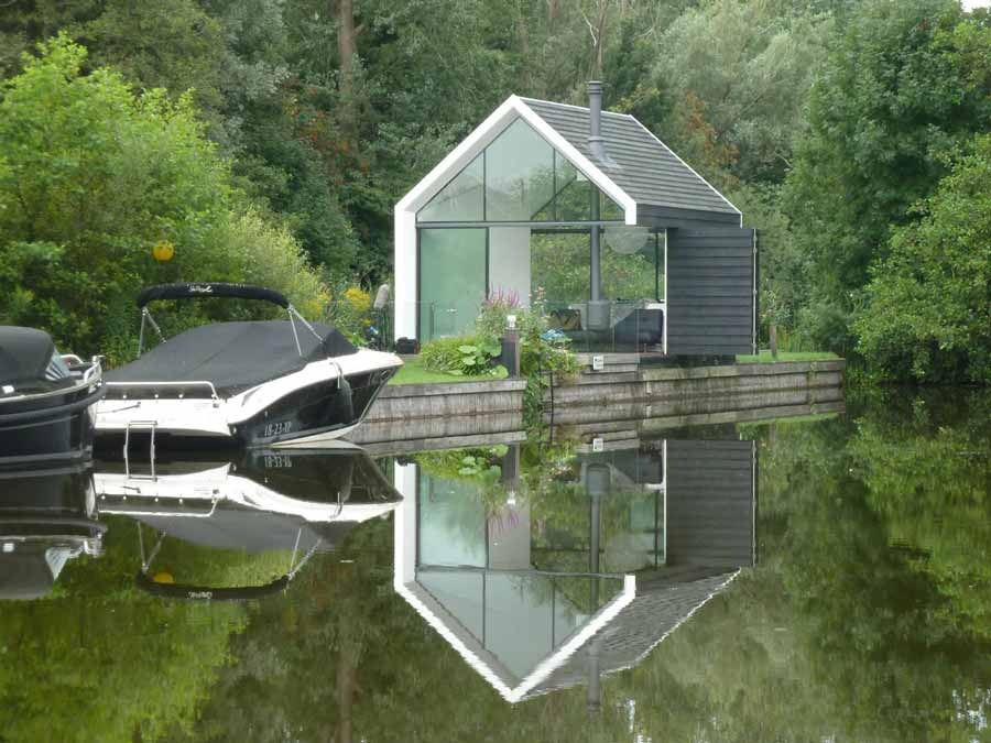 Zomerhuis eiland huis for 2 by 4 design