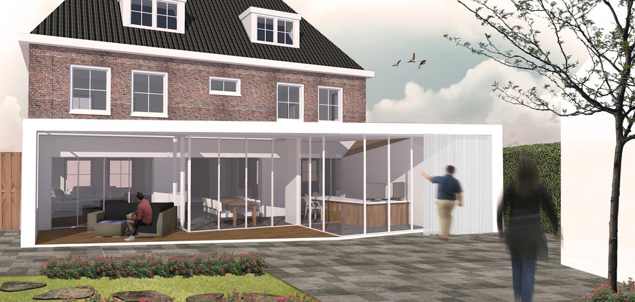 House extension Brielle