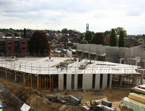 Residential and health centre start to get shape