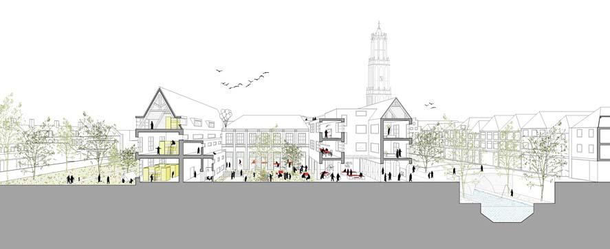 2by4-architects-buget-hostel-tivoli-utrecht-doorsnede