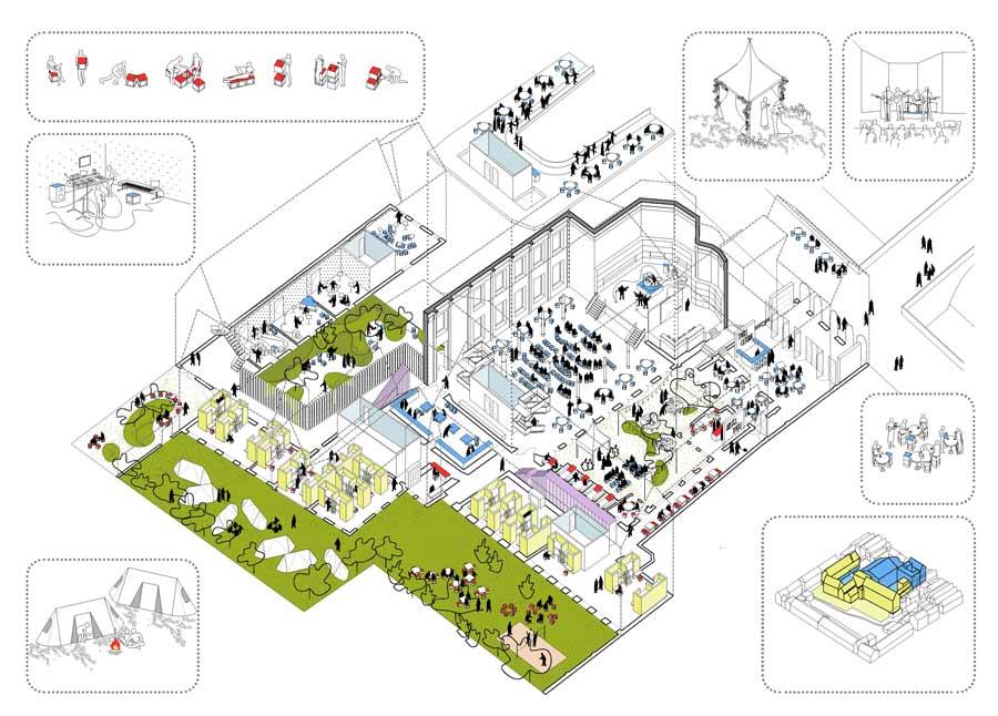 2by4-architects-buget-hostel-tivoli-utrecht-indeling-2