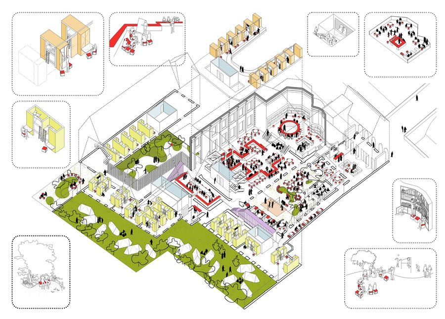 2by4-architects-buget-hostel-tivoli-utrecht-indeling