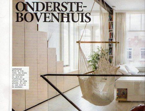 Renovatie dubbel boven huis is gepubliceerd in Volkskrant Magazine