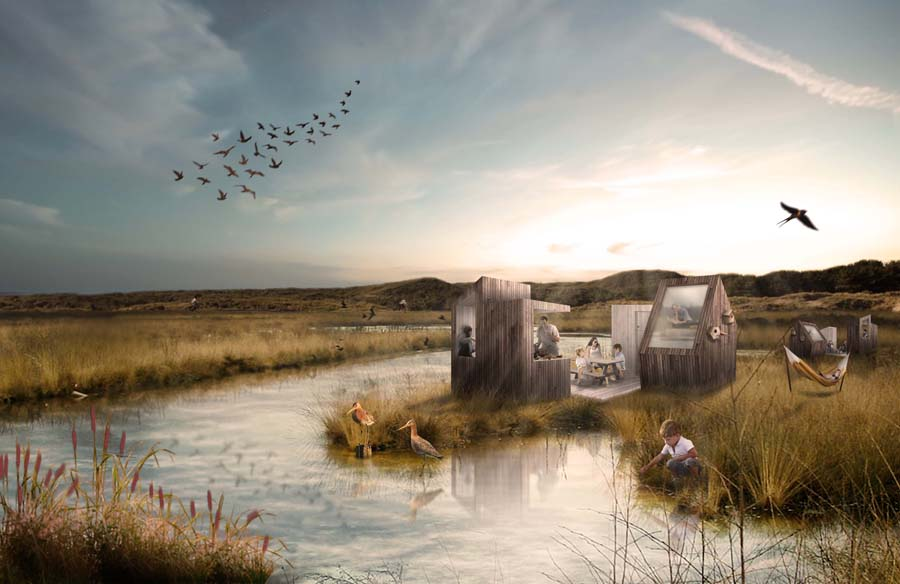 2by4-Waterdunen Breskens-Village house-render